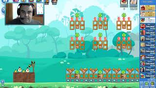 Angry Birds Friends on Facebook Tournament How to get 3 Stars No Power Ups All Levels