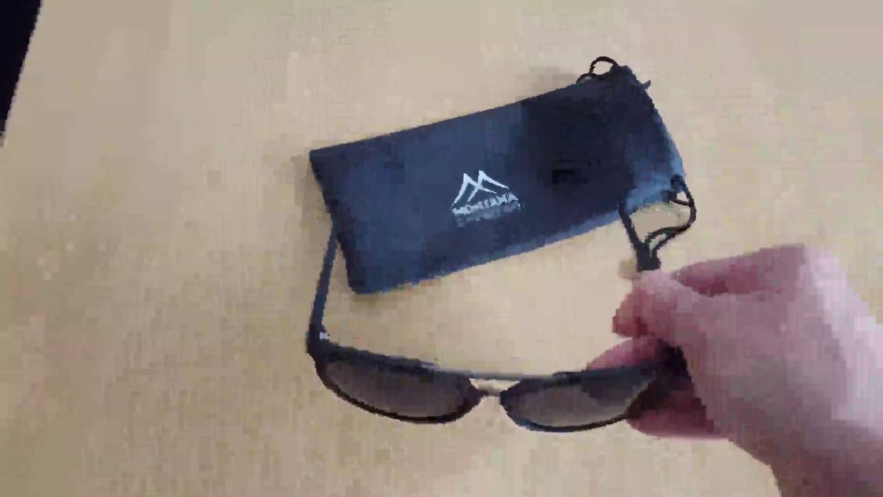 Montana Eyewear Sunoptic, Sonnenbrille Unisex Inklusive Softetui S32 ...