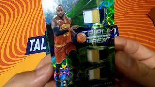 Huge LeBron James pull!  2016 - 17 Panini Spectra Basketball box break NBA card LBJ 球員卡開箱 拆卡 開盒 光譜盒