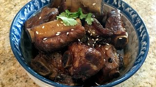 Sweet & Sour Pork Ribs 糖醋排骨 - Homemade Chinese Food Recipe Video 1