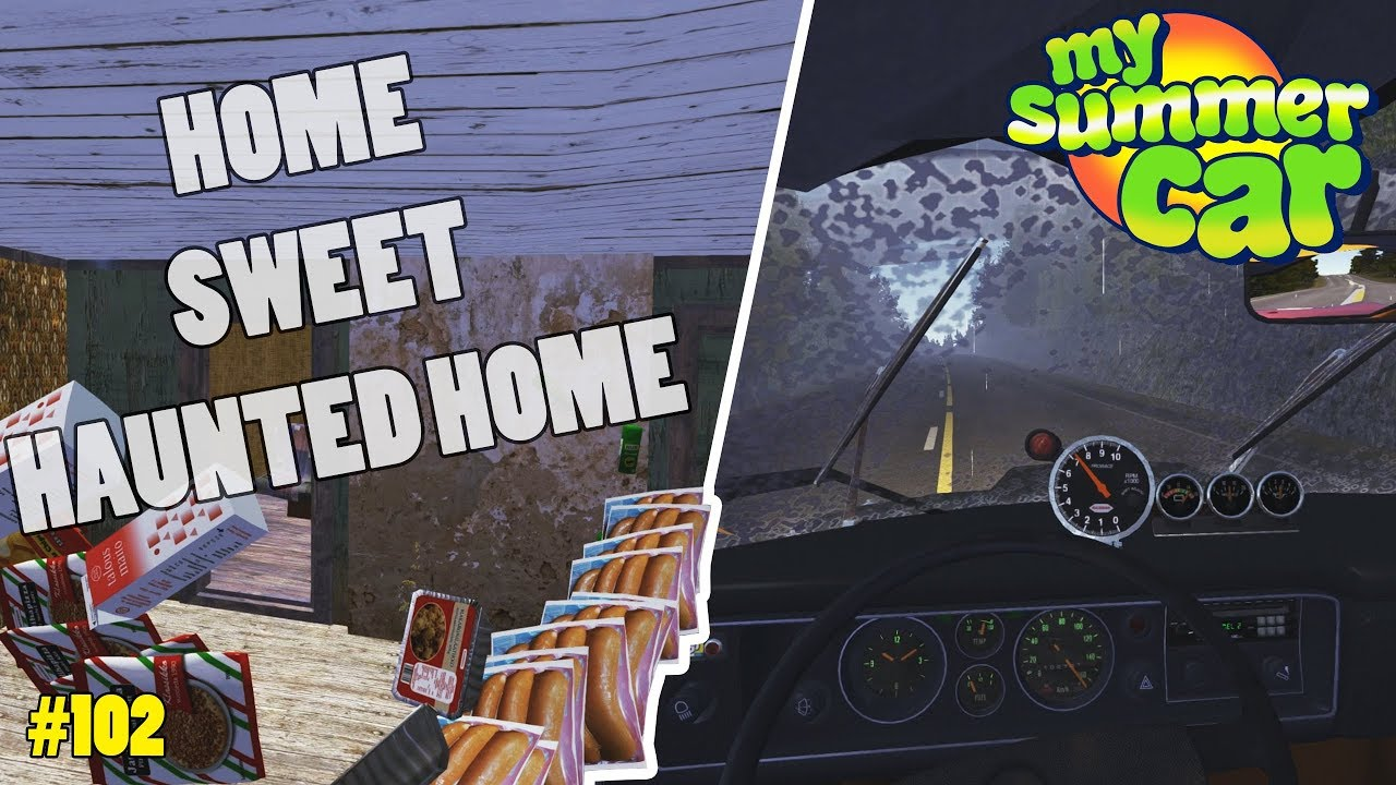 Working Wipers Moving Into The Haunted House My Summer Car