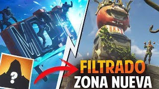 *FILTRATED* REVEALED ROAD TRAVEL SKIN (NEW MYSTERIOUS AREA) FORTNITE: Battle Royale