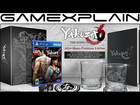Yakuza 6 The Song of Life After Hours Premium Edition UNBOXING