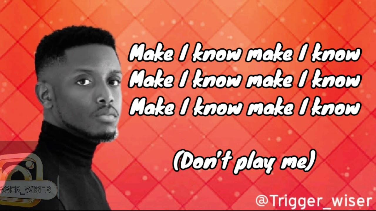 Download CHIKE _IF YOU NO LOVE _Lyrics video