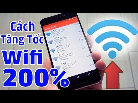 Cách Tăng Tốc độ WIFI Lên Tới 200% Mà Bạn Chưa Hề Biết   Mẹo đơn Giản Tăng Tốc Wifi Trên Smartphone