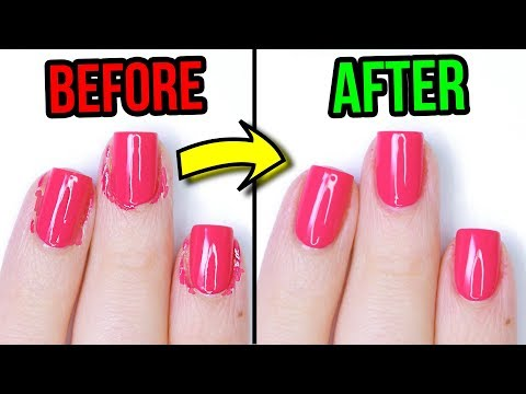 5 Nail Hacks For Perfectly Painted Nails (THEY ACTUALLY WORK!)