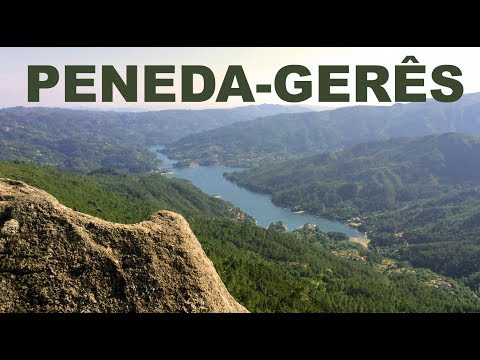 Peneda-Gerês high-point Landscape View — Portugal