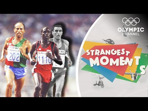 Suspicion And Intrigue On The Track At The Barcelona 1992 Olympics   Strangest Moments