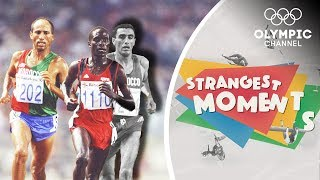 Suspicion and Intrigue on the Track at the Barcelona 1992 Olympics | Strangest Moments
