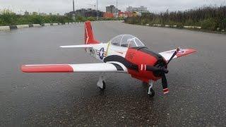 Радиоуправляемый Самолет Eleven Hobby T-28 Trojan