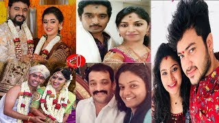 Telugu TV Serials Real Life Wife and Husband | Telugu TV Heroines Husbands | Gossip Adda