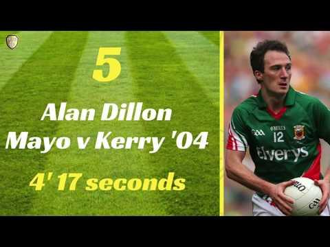 Top 5 quickest goals in GAA All-Ireland Football Finals
