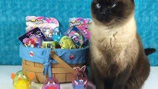 Surprise Easter Basket Blind Bag Shopkins MLP Minecraft Play-Doh Eggs & More