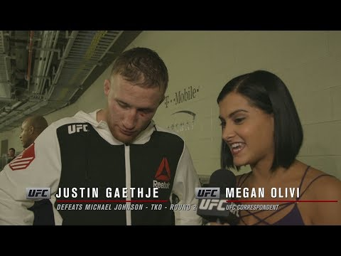 Justin Gaethje 'I told you I wasn't scared'