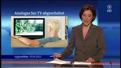 30.04.2012 • ARD Das Erste • Analoges Sat-TV abgeschaltet