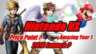 Nintendo NX - Price Point, First Year Importance & Launch Date