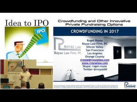 10-24-17 Crowdfunding and other Innovative Private Fundraising Options
