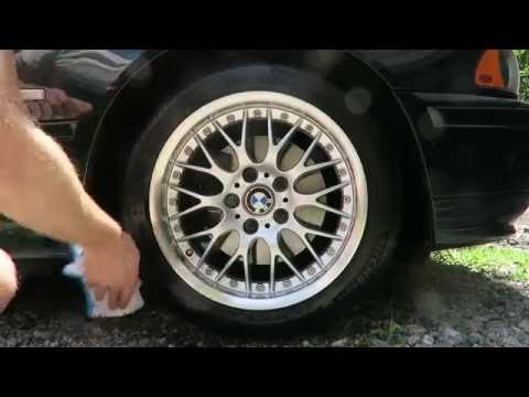 How to Clean BMW BBS Wheels