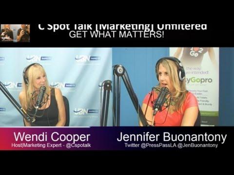 C Spot Talk {Marketing} Unfiltered - Jennifer Buonantony - PressPassLA.com