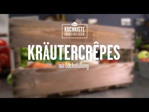 KÜHNE KOCHKISTE Kräutercrêpes mit Lachsfüllung