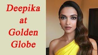 Deepika Padukone yellow off shoulder dress turns heads at Golden Globes Awards 2017 | FilmiBeat