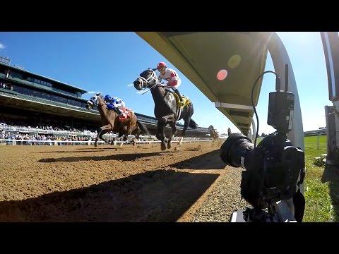 Keeneland race track photo finish via remote