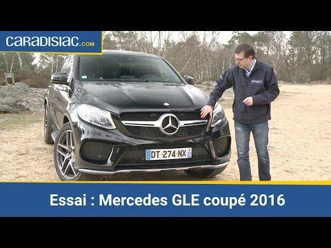 Essai - Mercedes GLE coupé 2016 : m