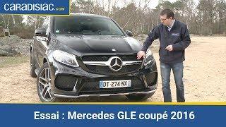 Essai - Mercedes GLE coupé 2016 : m'as-tu vu