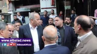 محافظ القليوبية يتفقد مدينة شبين القناطر.. فيديو