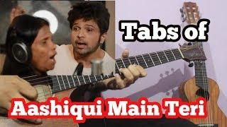 aashiqui-main-teri---ranu-mondal-himesh-reshammiya-guitar-tabs-with-backing-track