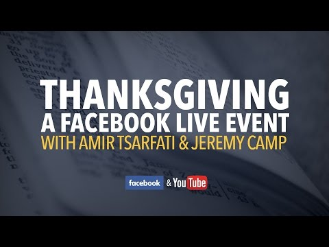 Amir & Jeremy Camp Special Thanksgiving LIVE!