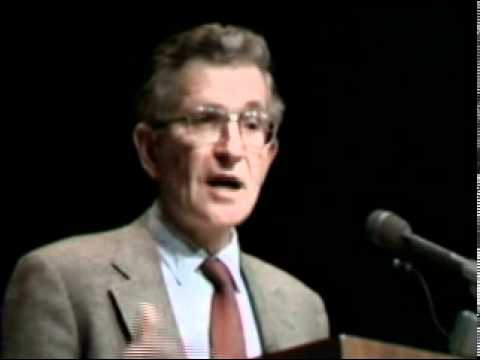 Noam Chomsky - The Political Economy of the Mass Media - Part 1