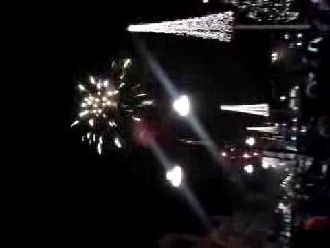 the new year 2014 celebration at Katrineholm