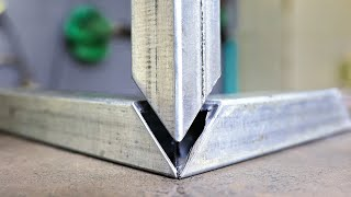 THE PERFECT CUT !!! Double miter corner joint