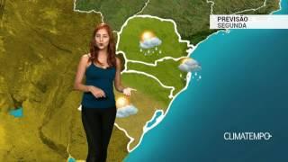 Previsão Sul - Litoral segue instável