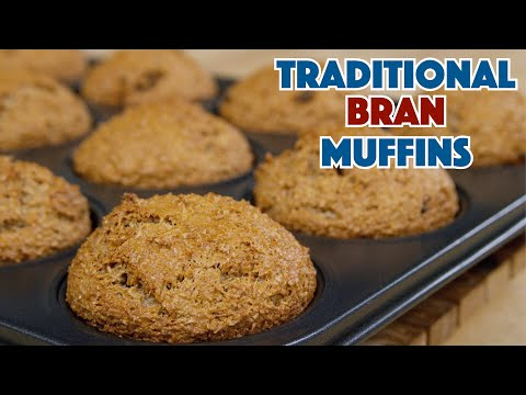 🔵 1938 Depression Era Bran Muffin Recipe || Glen & Friends Cooking