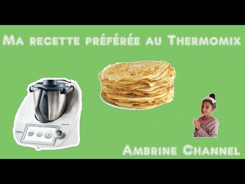 recette-de-crêpes-délicieuses-au-thermomix-#ambrinechannel-#tm5