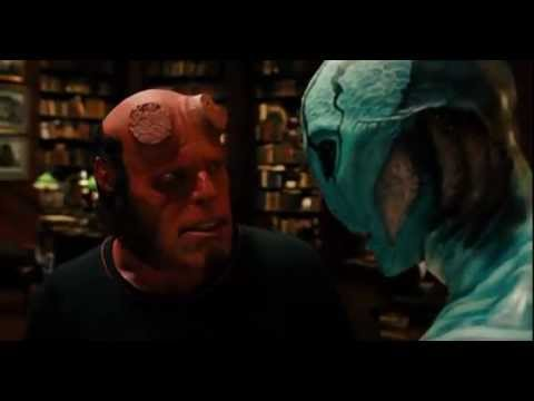 HELLBOY II  I cant smile without you  YouTube