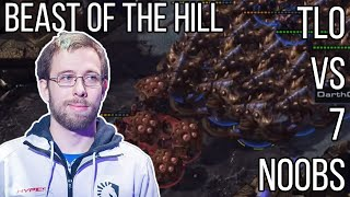 Pro Player TLO vs 7 Noobs [FFA] Beast of the Hill After Party - Starcraft 2