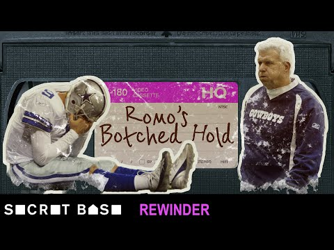 Tony Romo's botched hold in Seattle needs a deep rewind | 2006 NFC Wild Card Game
