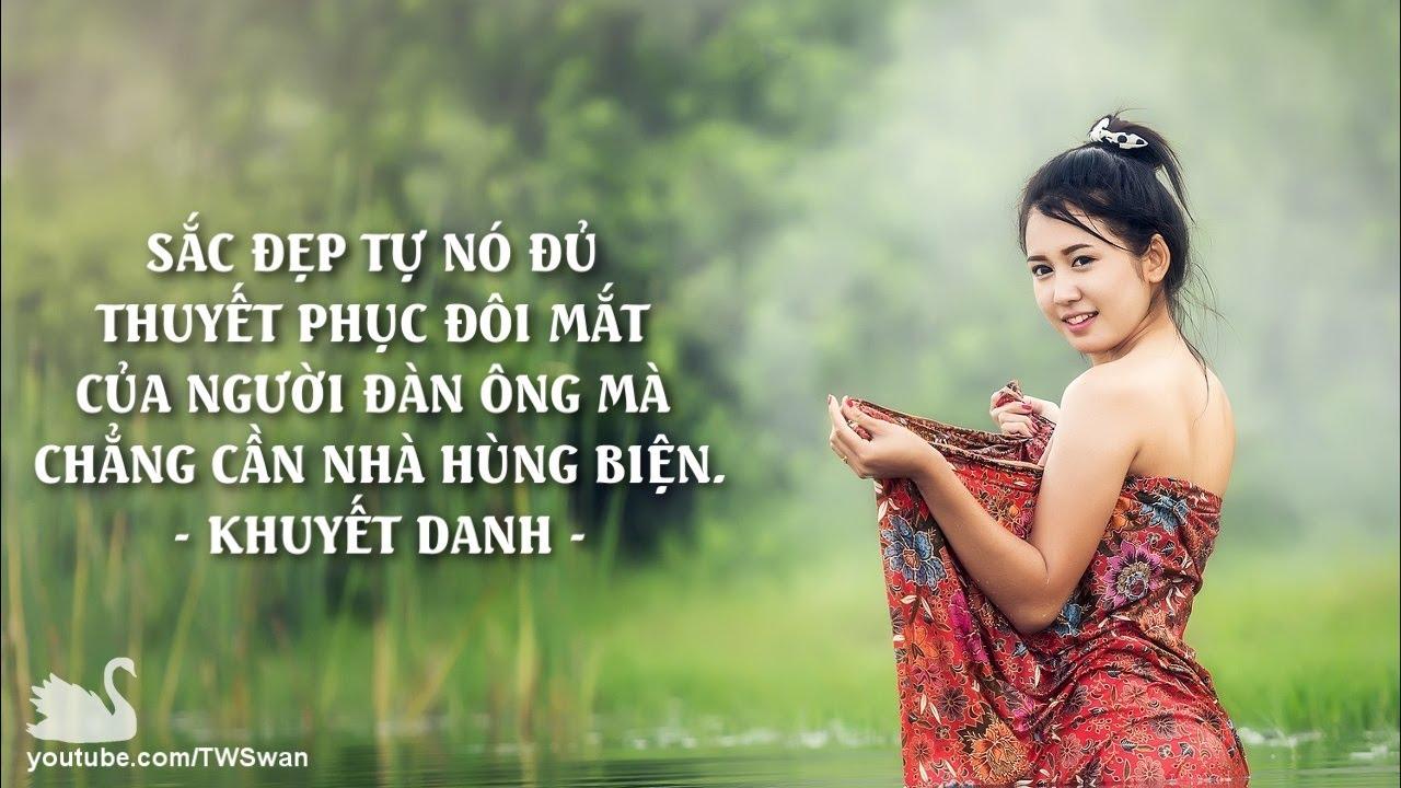 Những câu danh ngôn hay nhất về Phụ nữ và Sắc đẹp