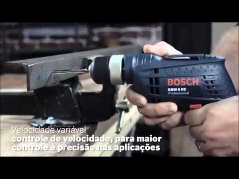 Видео обзор: Дрель безударная BOSCH GBM 6 RE