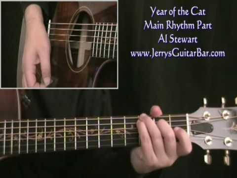 How to Play Year of the Cat intro riff on guitar - YouTube
