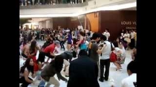 Glee Flash Mob at The Gardens, Mid Valley - Kuala Lumpur, Malaysia