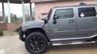 hd video custom 2009 hummer h2 for sale see www sunsetmotors com