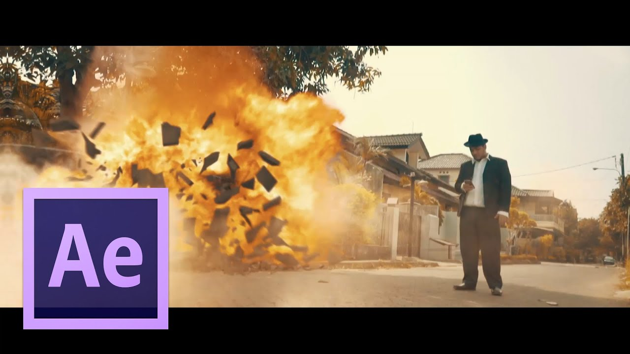 After effects tutorials explosion youtube for Explosions after effects