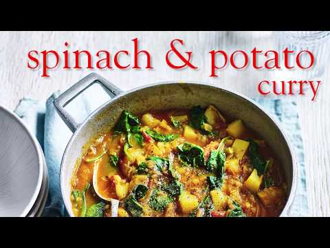 Slimming World Syn Free Spinach & Potato Curry - FREE