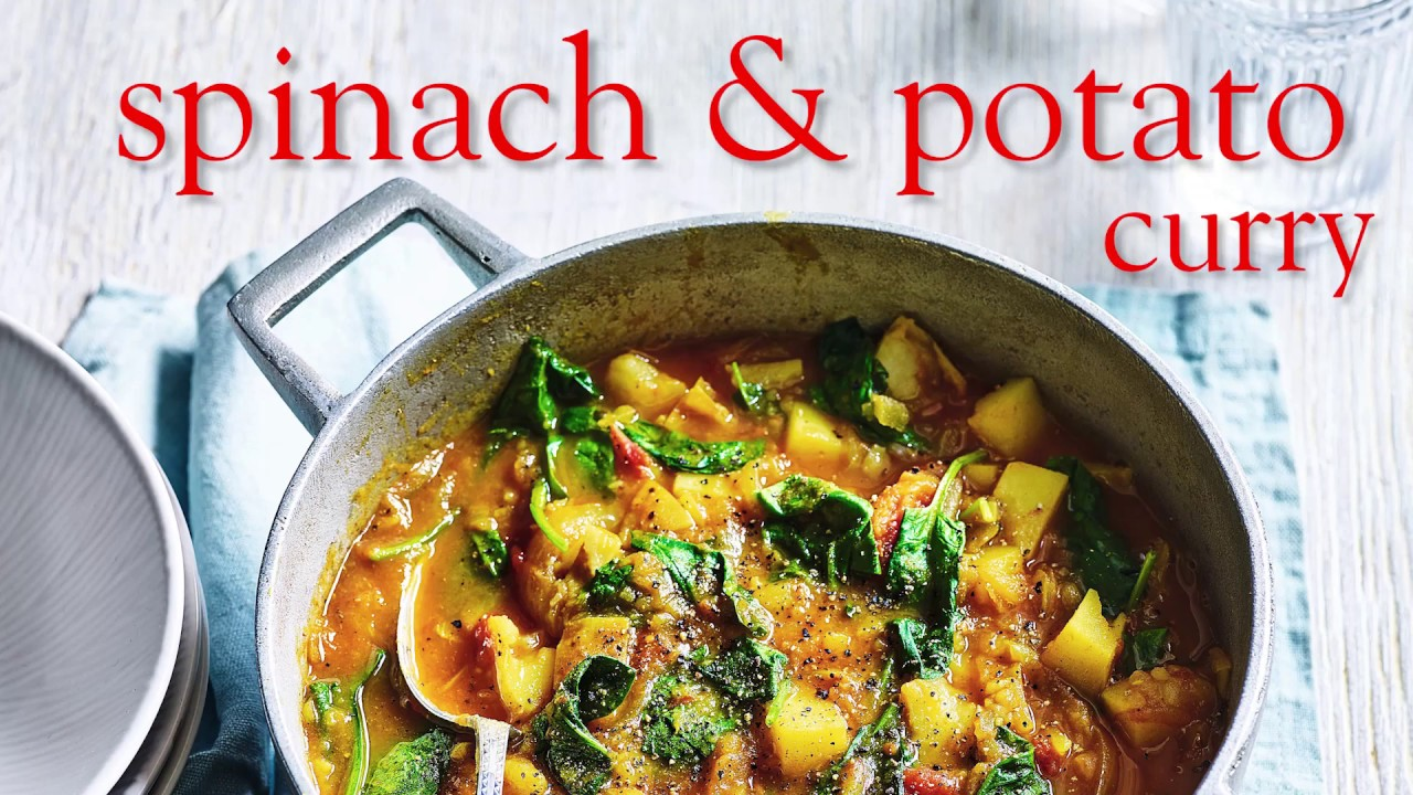 Slimming World Syn Free Spinach Potato Curry Free