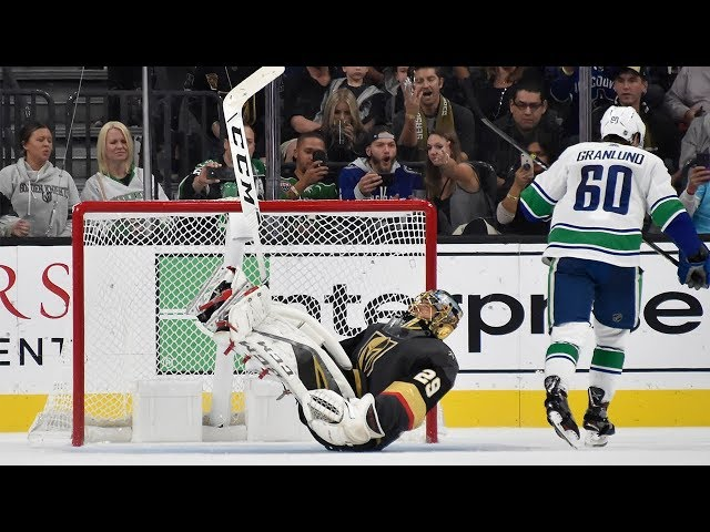 Granlund, Markstrom help Canucks outlast Golden Knights in shootout
