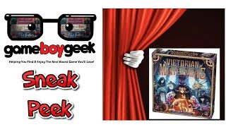Victorian Masterminds Sneak Peek & Mini Review with the Game Boy Geek